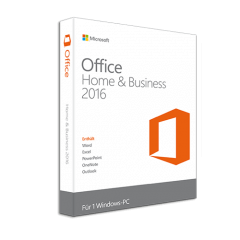 MS Office 2016 Home & Business PKC für 1 PC