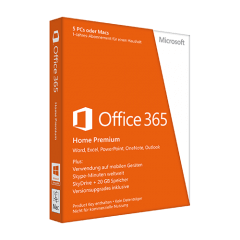MS Office 365 Home für 5 PCs